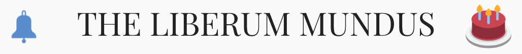 The Liberum Mundus Logo